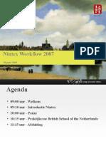 Nintex Workflow 2007 Klantendag