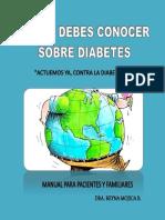 Lo que debes conocer sobre diabetes.