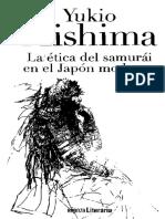 Mishima Yukio - La Ética Del Samurái en El Japón Moderno
