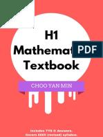 [CHOO, Yan Min] H1 Mathematics Textbook (Singapore(B-ok.xyz)