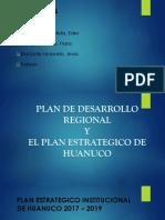 Plan de Desarrollo Regional (Teresa)