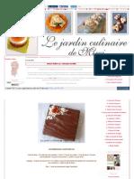 Marbré Italien Au 2 Chocolats by Mimi