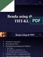 Benda Asing THT-KL