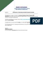 INDORAMA ELEME TRAINING PROGRAM (IETP) ADVERT.docx