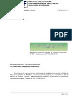 Relatório de Pesquisa Automática Nº 1505/2017