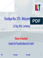 Goodbye Rec. 370 – Welcome Rec. 1546 - 2002_grosskopf