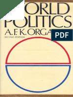 [a.F.K. Organski] World Politics(B-ok.xyz)