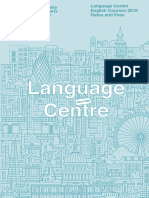 2018 Language Centre English Courses Dates and Fees for Website (1)