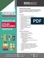 Paquetes Útiles Escolares Edomex 2018