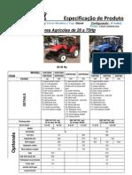 Kent_Tractores Agrícolas de 20 a 75Hp