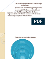 KPV Polazista i Klasifikacija