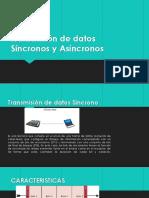 Transmision de datos Sincronos y Asincronos