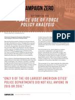 police use of force report