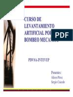 BOMBEO MECANICO INTEVEP