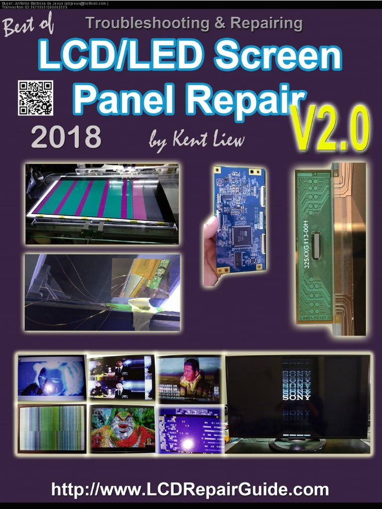 v2 Led Lcd Screen Panel Repair | Liquid Crystal Display | Computer Monitor
