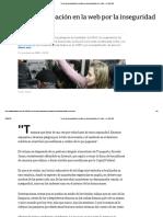 Crece La Preocupación en La Web Por La Inseguridad en El Subte - LA NACION