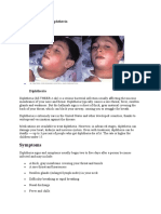 Overview Diphtheria