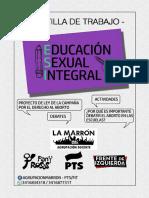 Secuencia didáctica sobre la problemática del aborto en Argentina