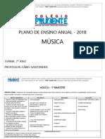 7º Ano Fund. II - Manhã - Plano de Ensino de Música (1)