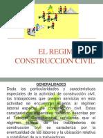 Regimen de Construccion Civil