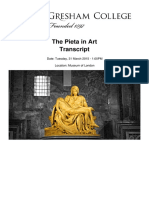 The Pieta in Art