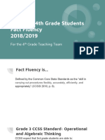 incoming 4th grade fact fluency with background information screened