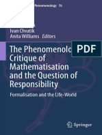 The Phenomenologic Critique of Mathematisation