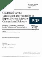 Pautas Para El Verificación y Validación