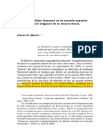 La influencia militar francesa en argentina