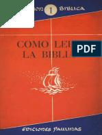 Como leer la Biblia.pdf