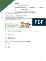 Prueba de Matematicas 4to (2)