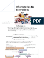 Anti Inflamatorios No Esteroideos