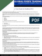 Forex DBM1 Manual Procedure