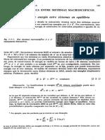 Interaccion Termica Entre Sistemas Macroscopicos