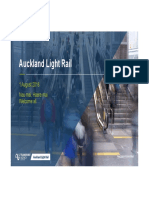 Auckland Light Rail Briefing by NZTA - August 2018