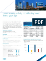 Q2 2018  Houston Office Sublease Report