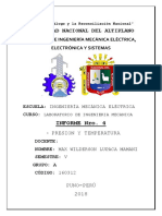 Informe mecanico