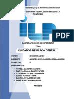 Cuidado de Placas Dentarias