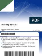 Barcodes (1)