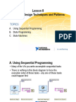 Lesson 8 - Common Design Techniques and Patterns
