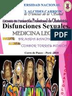 Disfunciones Sexuales. LISTO