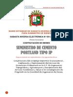 Bases Sie 1-2018 Cemento Ip Universidad Del Altiplano