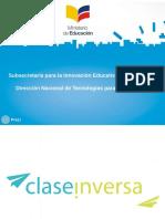 Clase Inversa MinEduc