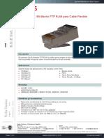 Conector Cat6a Macho Ftp Rj49 Cable Flexible 0022
