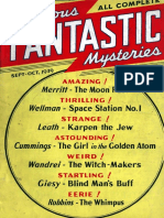 Famous Fantastic Mysteries September 1939