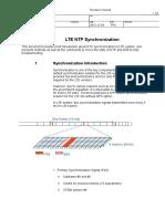 LTE NTP Synchronization