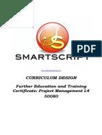 L4 Project Management Curriculum Design Document