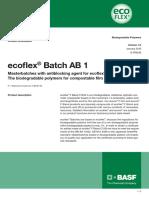 Ecoflex Batch AB1
