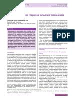 The Innate Immune Response in Human Tuberculosis