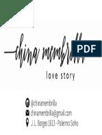 Modelo tarjeta presentacion indumentaria
